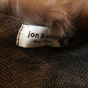 jon & anna New York Accessories - jon & anna New York  Animal Print Cape, Faux Fur